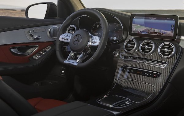 2021 Mercedes Benz GLC 43 - 05 interio